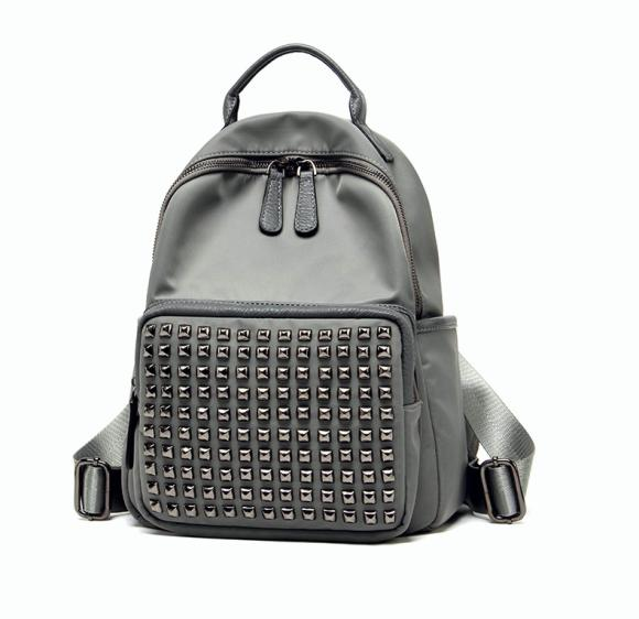 Female College Student Backpack Large Capacity British Style Simple and Casual Backpack