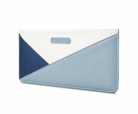 Long Thin Zipper Leather Handbag Genuine Simple Female Wallet