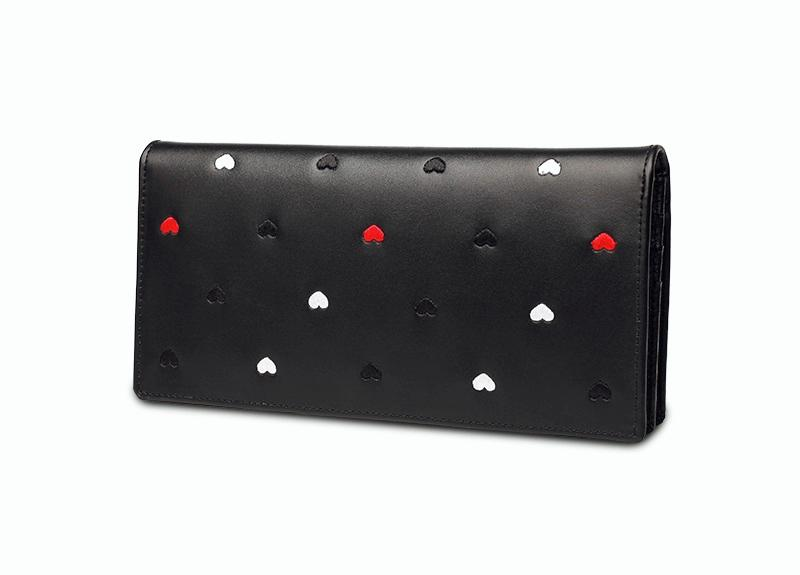 Short Female Leather Wallet Simple Multi-functional Personality Hand Bag
