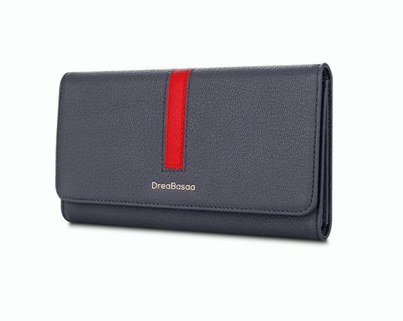 Women's Long Leather Wallet Large Capacity Hand Bag
