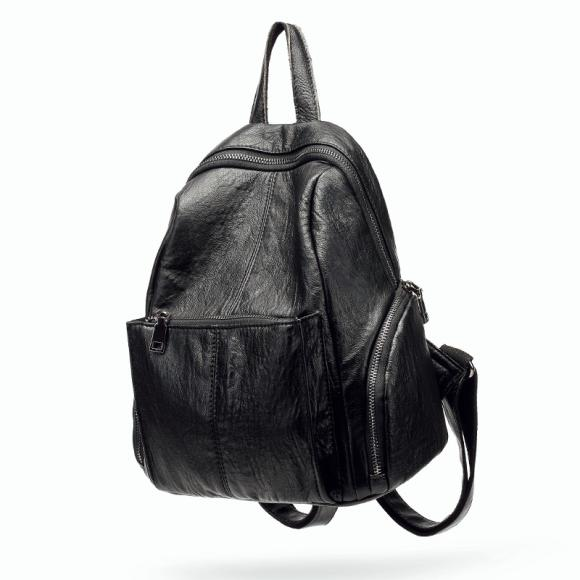College Style Backpack Simple Leisure Small & Refreshing Double Shoulder Bag