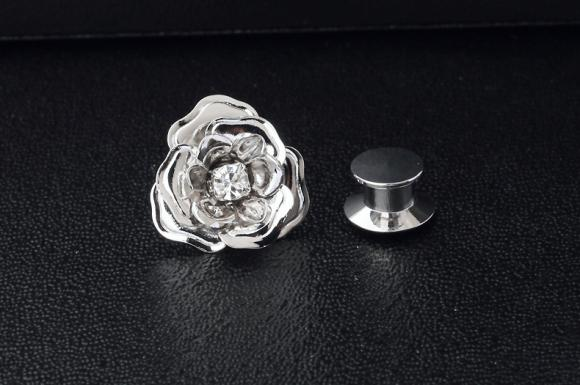 Women's Little Rose Brooch Pin Suits Dress Collar Hat Brooch Pin (YBOP177)