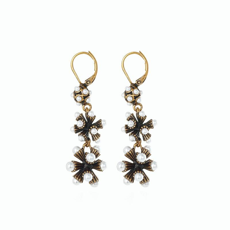 Alloy European Vintage Baroque Earrings for Gril (JSE3)