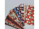 45cmx60cm Fabric Suede Printed Fabric for Handmade DIY - Christmas Theme (FB1)