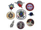 10 pcs of Wholesale Iron on Fabric Patch for Clothing / Bulk Embroidered Sew on Applique Cute Patch Fabric Badge Garment DIY Apparel Accessories - Aviation aircraft (WFB-24)