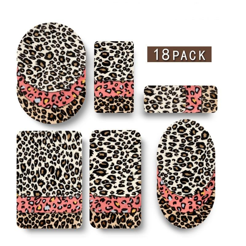 20 pcs of Wholesale Iron on Fabric Patch for Clothing Hat / Embroidered Sew on Applique Cute Patch Fabric Badge Garment DIY Apparel Accessories - Leopard patch (WFB-82)