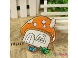 Iron on Fabric Patch - Mushroom House - FP36