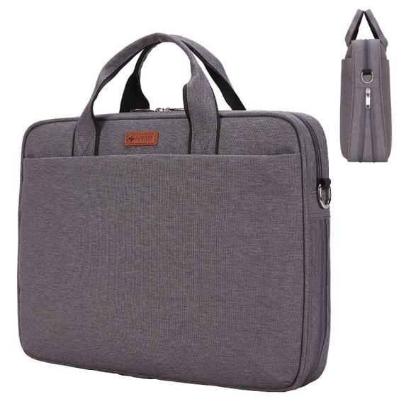 15.6 Inches Thick Version Shockproof Laptop Shoulder Bag Handbag